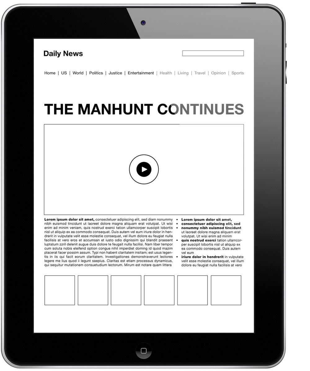 April 20: Pushing this idea of a simplified news site. Ideally, it would let you personalize to your interest, locations etc. with no advertisements.