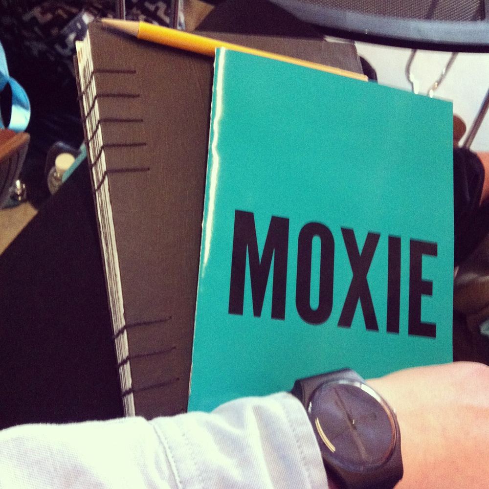April 27: MoxieCon was awesome! Design overload.