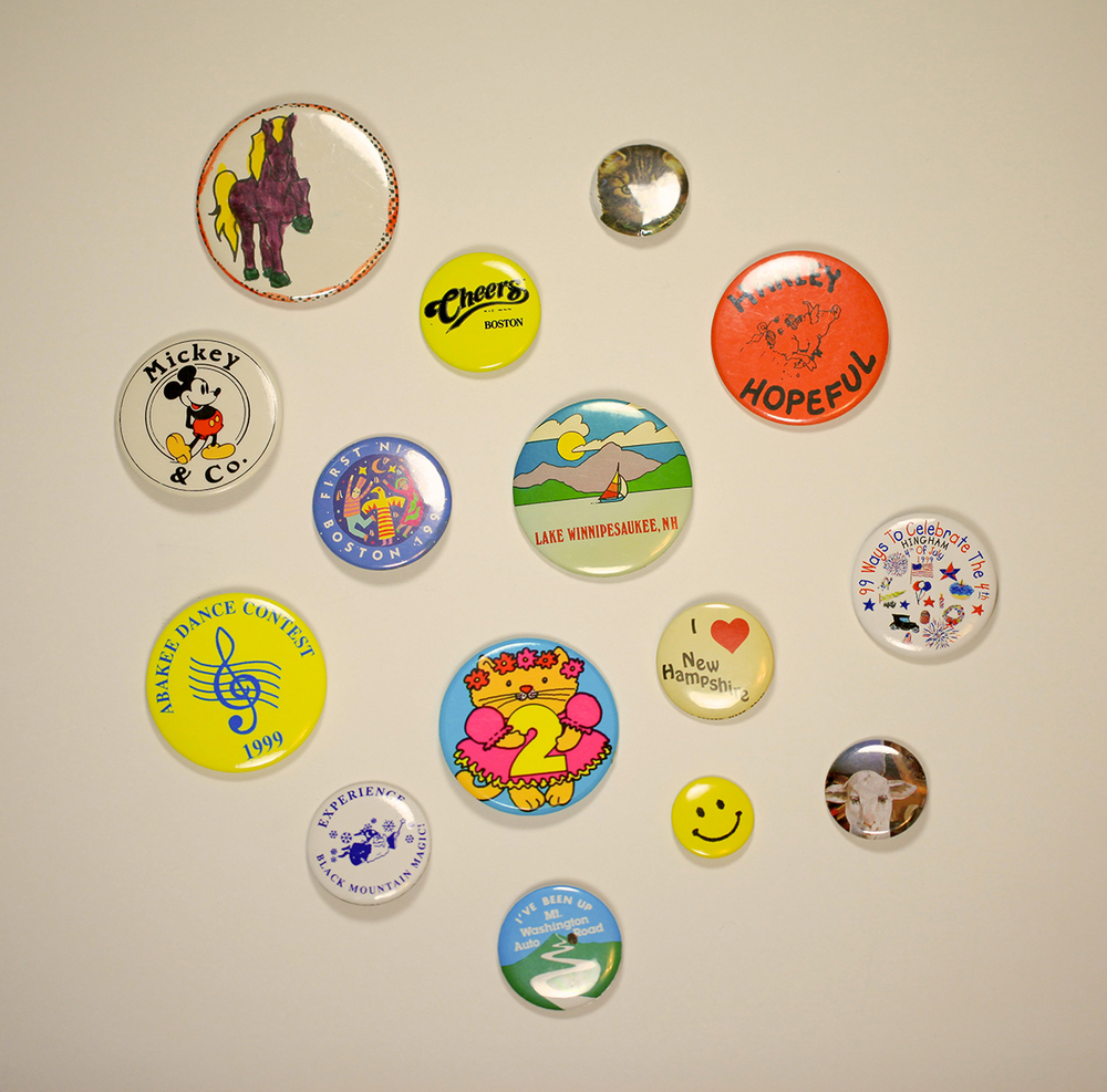 May 27: Childhood buttons that I've held onto over the years.
