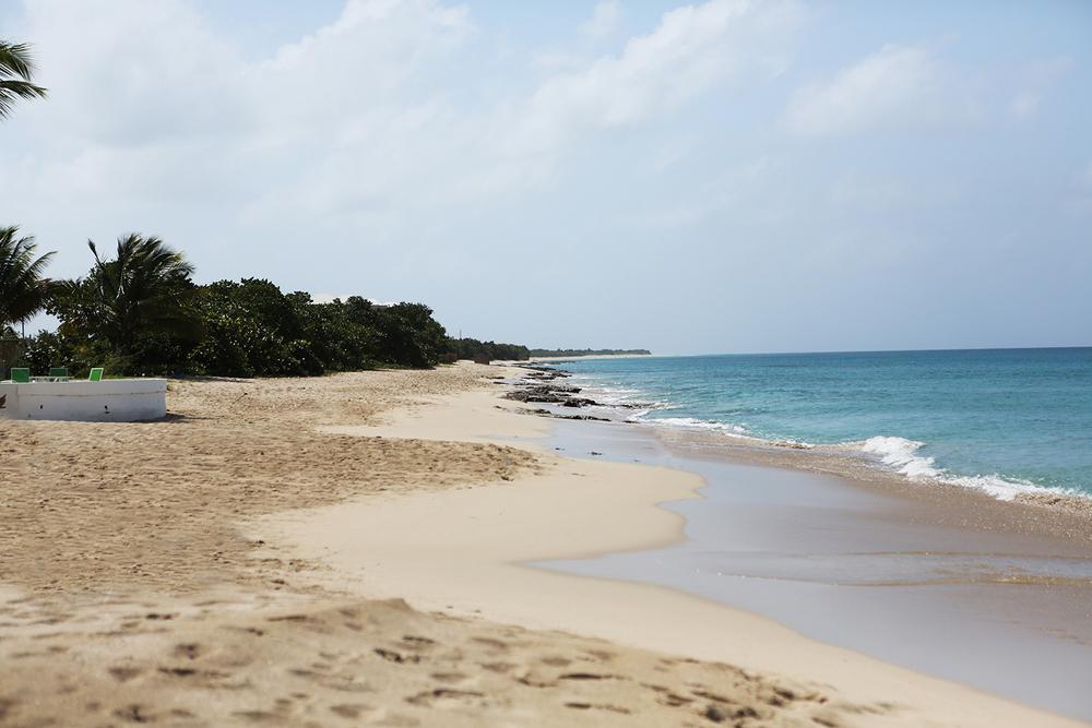 A private beach at St. Croix - 11.11.13