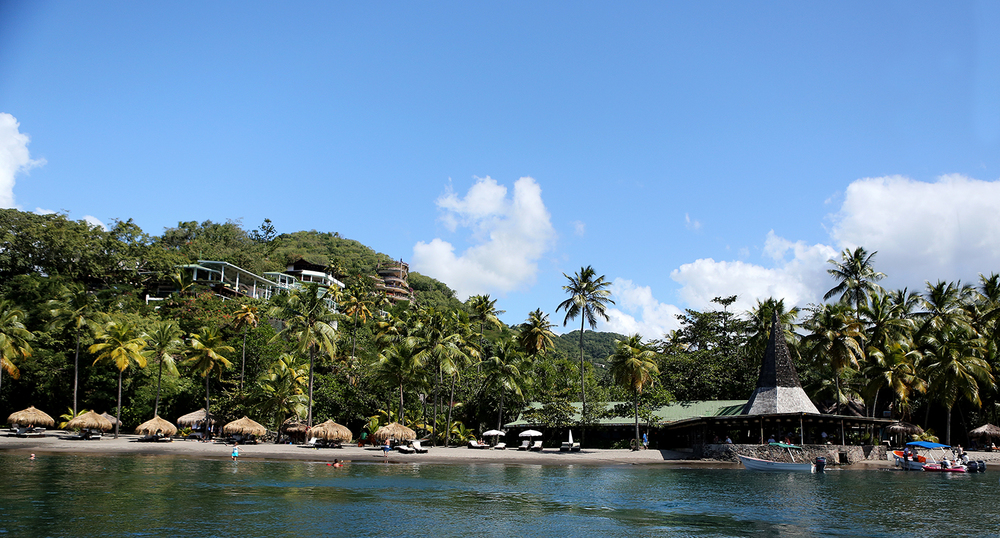 Anse Chastanet Beach, Soufrière, Saint Lucia - 11/14/13