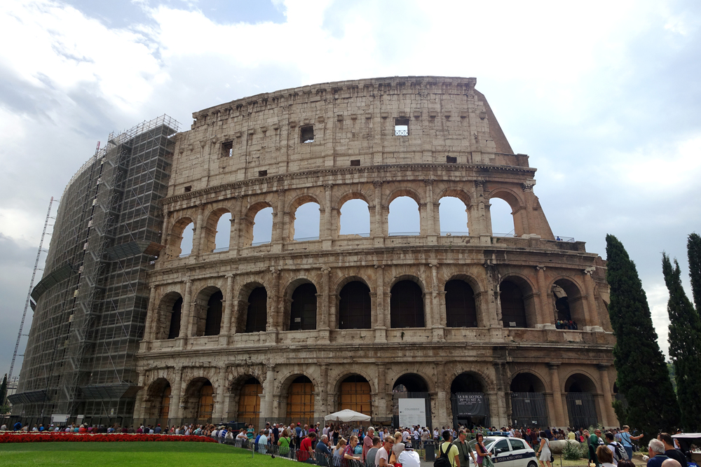 The Colosseum - Rome, Italy