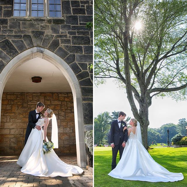 A beautiful wedding at the New Castle Country Club is on the blog!