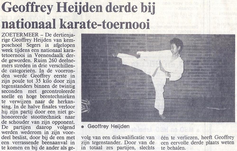1990-03-16_Streekblad_Geoffrey_Heijden_derde_bij_Naionaal_Karate-toernooi.jpg