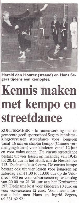 2003-09-05_Streekblad_Kennismaken_met_Kempo_en_Streetdance.jpg