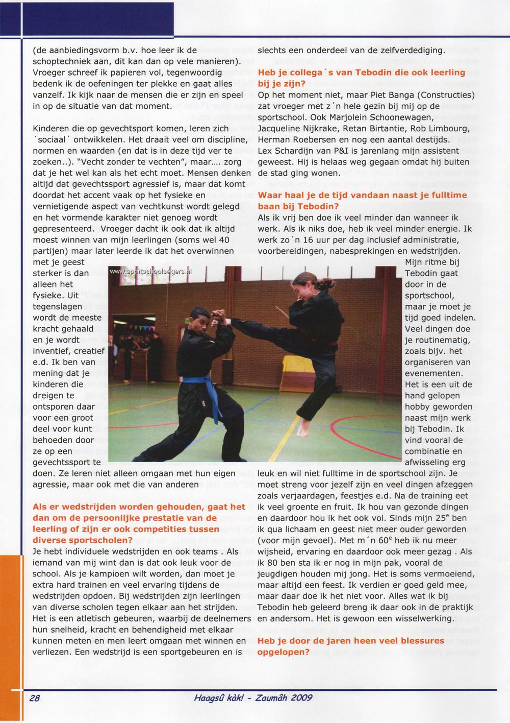 2009-06 Haagsû Kàk! 44 De Hobby van......René Segers Pagina 28.jpg