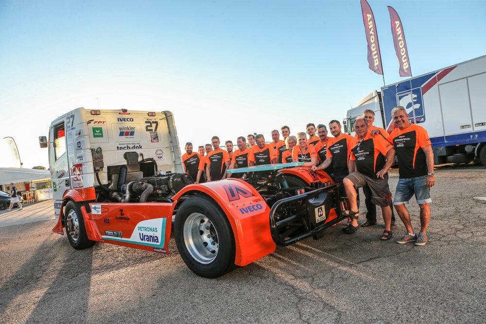 Vizemeister in der Team Europameisterschaft zusammen mit Team Hahn Racing