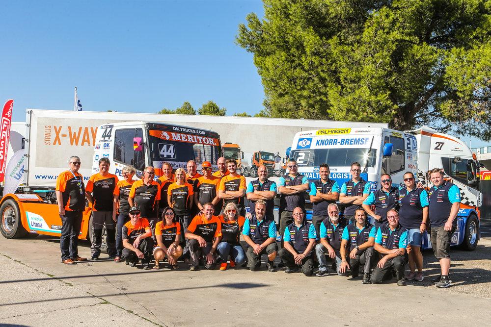 Team Europameister 2018 zusammen mit Team Hahn Racing!