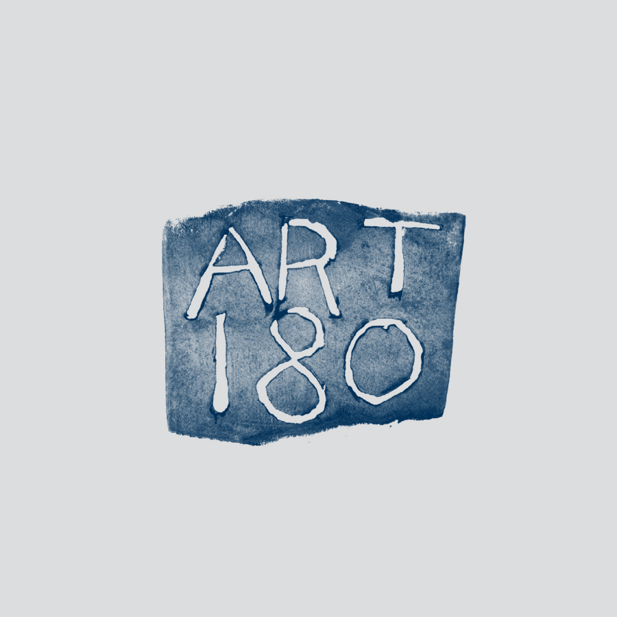 Original ART 180 logo by Anne Chamblin.
