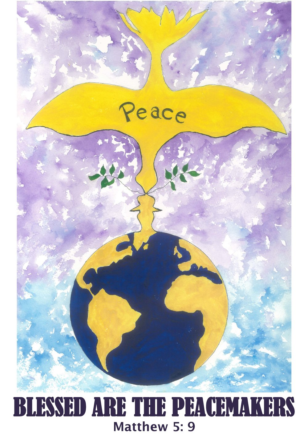 Music Makers and Peacemakers is a 9 month project collecting music, art, photography, video that inspires us to become better peacemakers in this world.                                                                         Artwork by Alice Baklayan