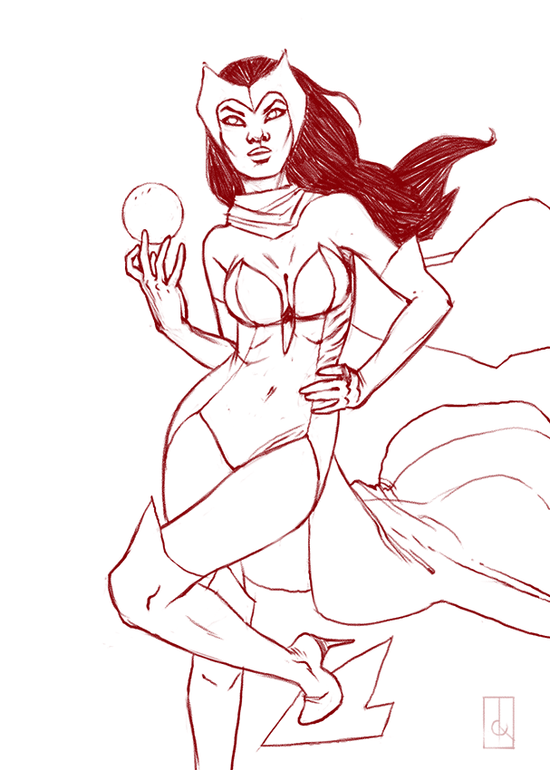 WIP :: Witchy Woman