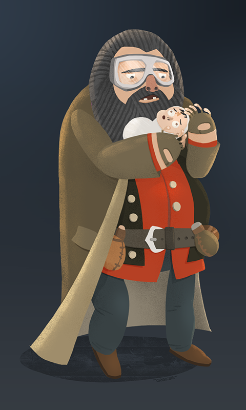13 :: Hagrid & Harry