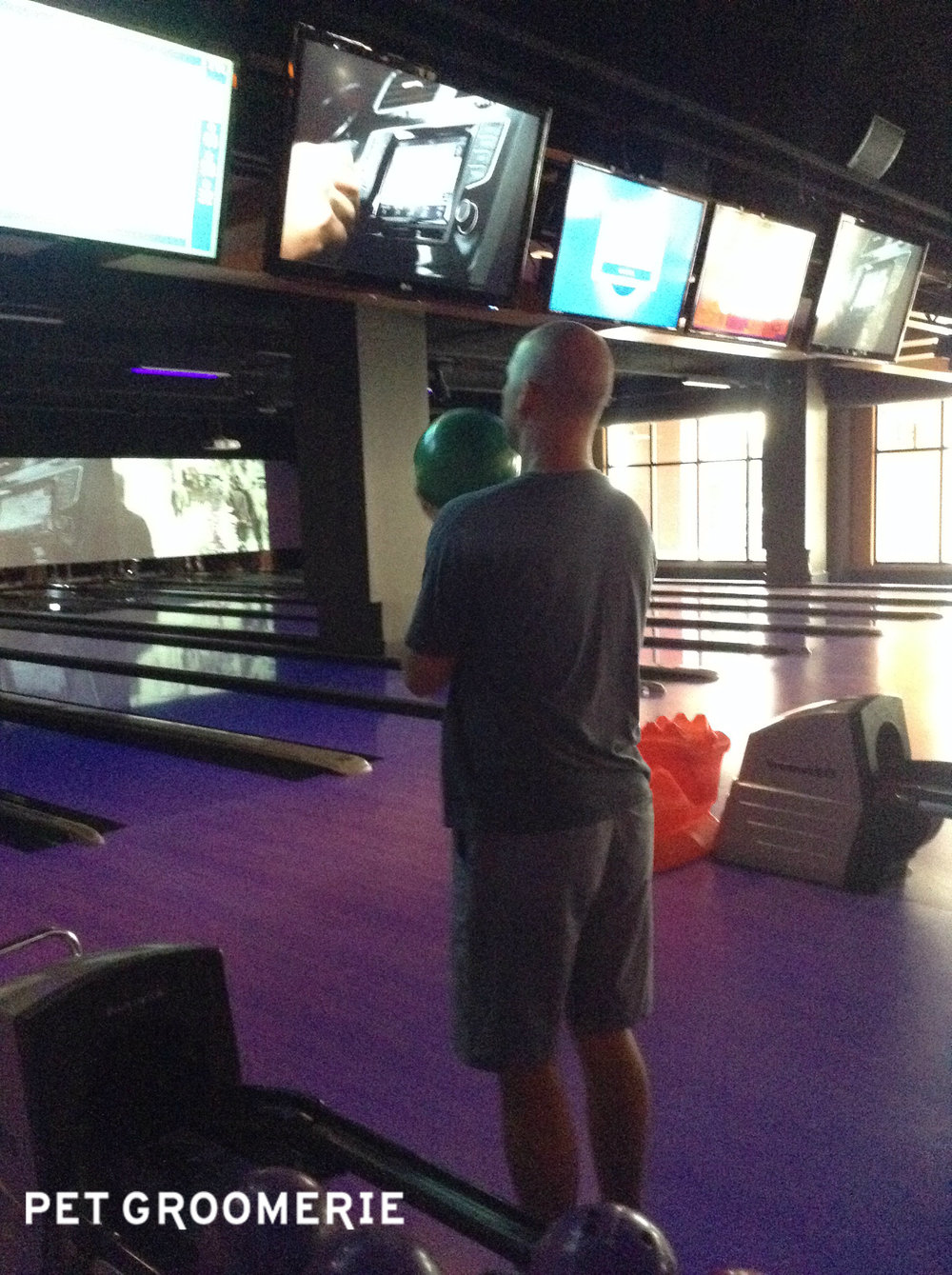Hey, Tim -- is that your head or a second bowling ball? (Okay, I'll collect my things, I'm out...)