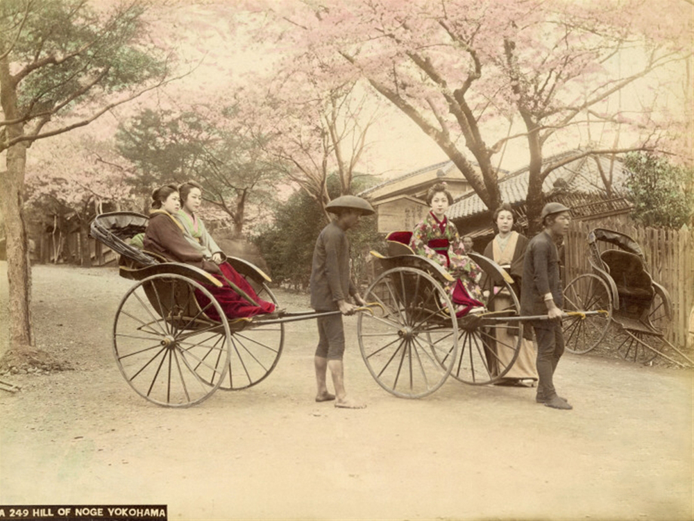 Yokohama, Japan 1863-1884, Photograph by Felice Beatto