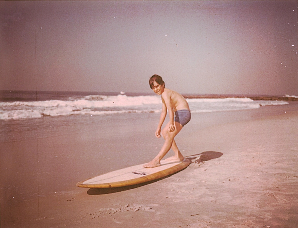 John surfing through the 70s
