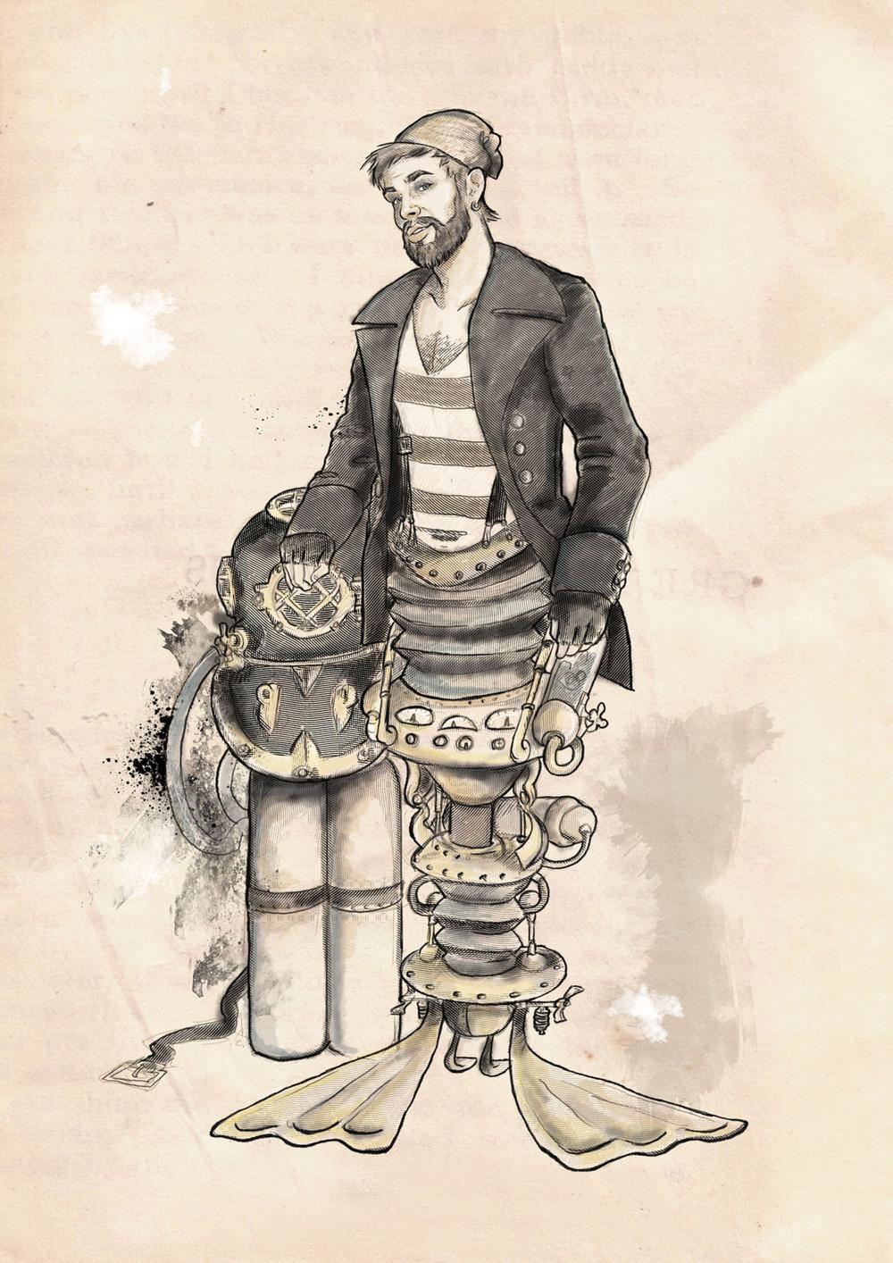 Leander, the Merman