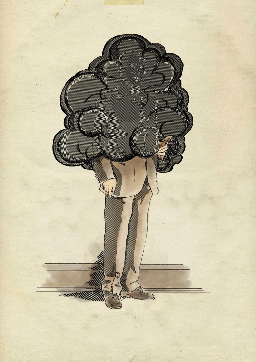 Maxwell Typhus, the Smoking Man