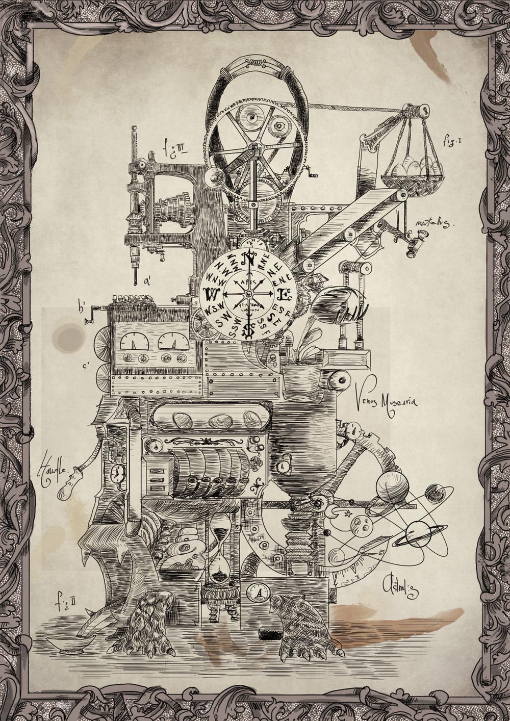 Lord Sargasso's Wondrous oldfangled nugatory contraption