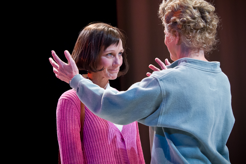 Lorraine Bahr and Gretchen Corbett in  Angels in America: Millennium Approaches  (2011) Photographer: Owen Carey