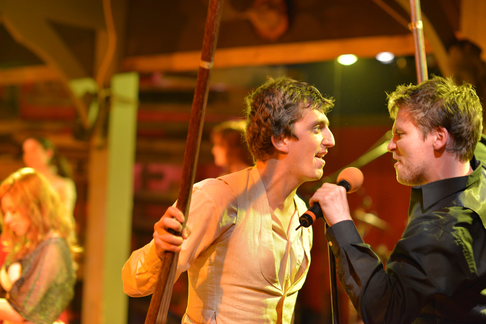 Sean McGrath and Chris Murray in  Bloody Bloody Andrew Jackson  (2012) Photographer: Brud Giles
