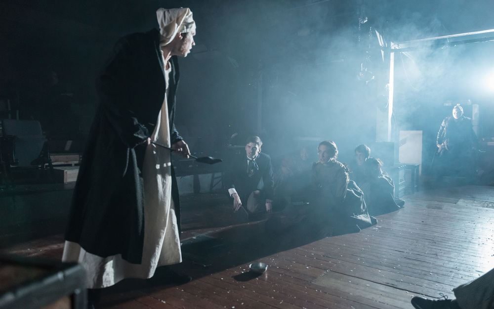 Drew Harper in  A Christmas Carol  (2013) Photographer: Brud Giles