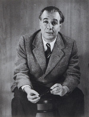 Jorge Luis Borges; photo by Grete Stern