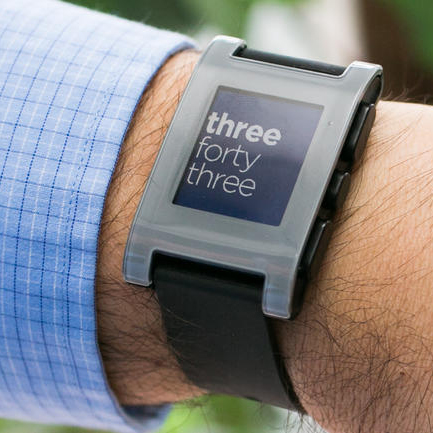 The Pebble E-Watch kick-started the iWatch craze back in 2012 with the $10 million it raised from an initial prototype.