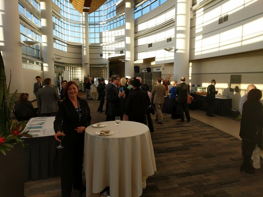 Closing reception, with thanks to Foley & Lardner and the Personalized Medicine Coalition.