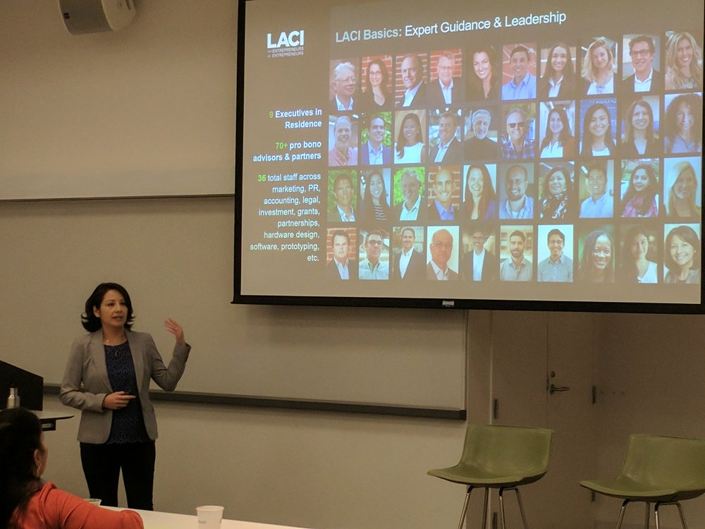 Jetta Wong provides an overview of the LA Cleantech Incubator.