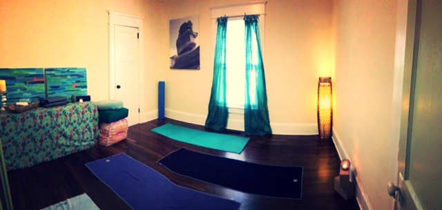 The Yoga Room :)