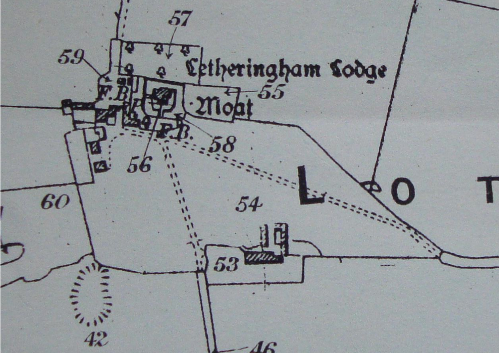 Fig.29 Letheringham Lodge, lot 35, 1919 (SROI, f SC142/1)