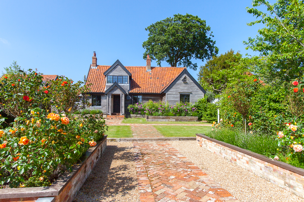View of Rose Cottage with your own private garden