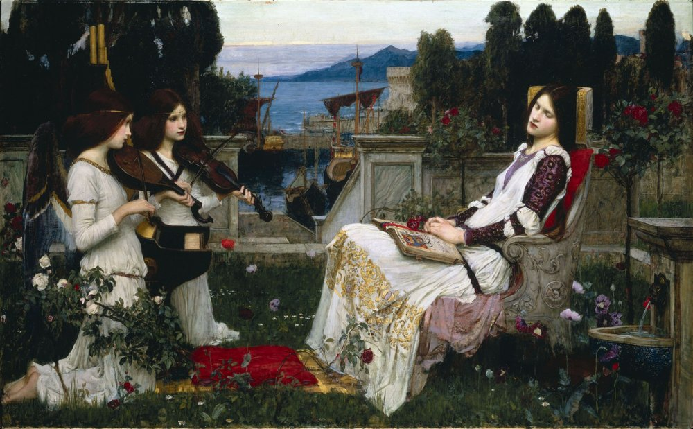 Waterhouse,_John_William_-_Saint_Cecilia_-_1895.jpg