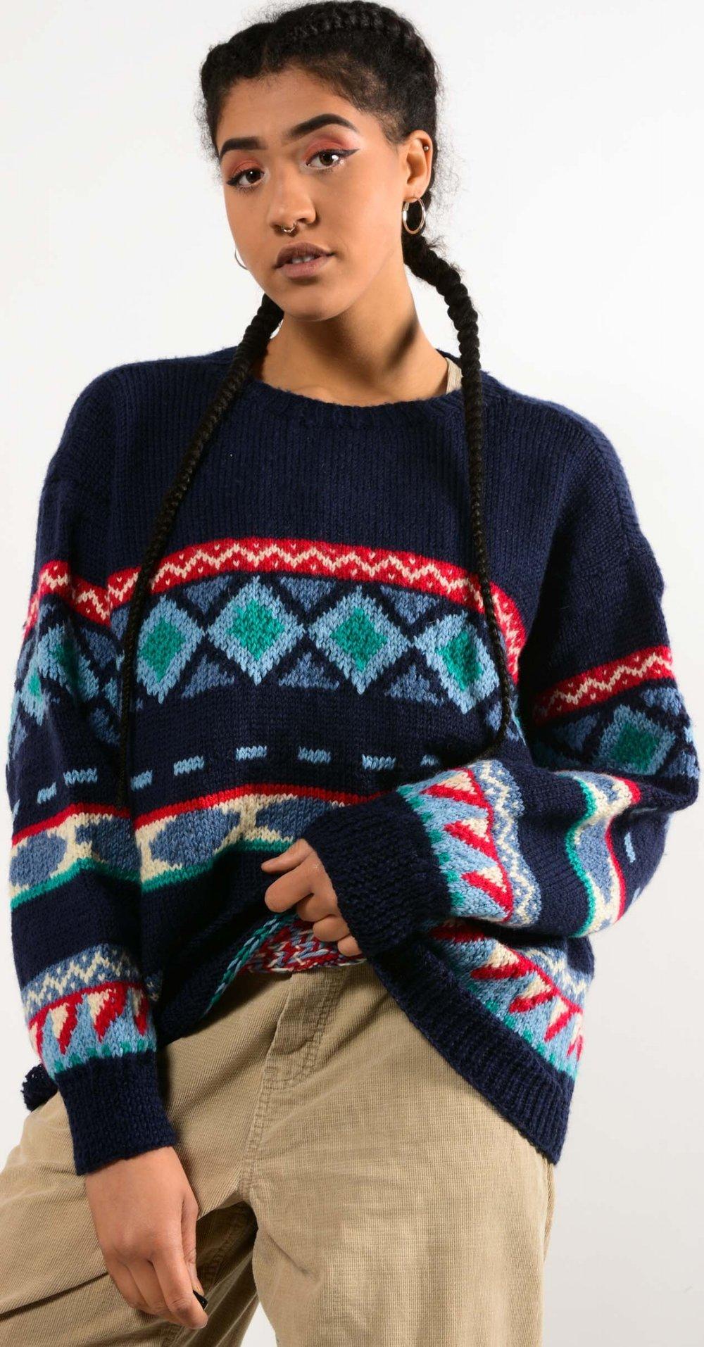 - Chunky Knit