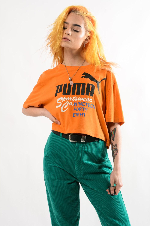puma cropped top