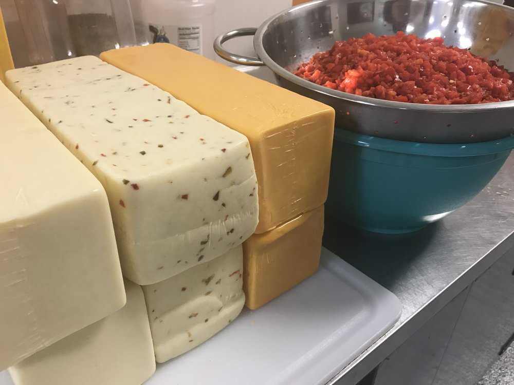 We plowed through approximately 15,000 pounds of premium cheeses last year (5 pounds at a time), and so far, we've made around 50% more this year..........