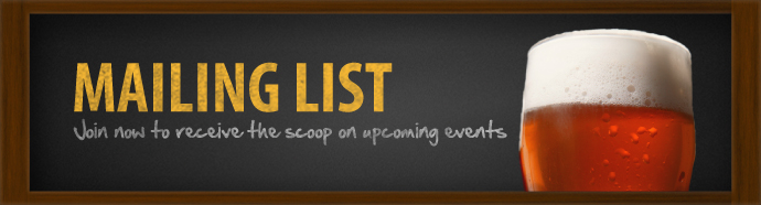 Click on the image above to join our mailing list