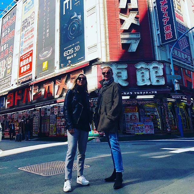 Location recce, day 2, Tokyo 🎬🏮 #filmproduction #nordicproduction #filmingintokyo