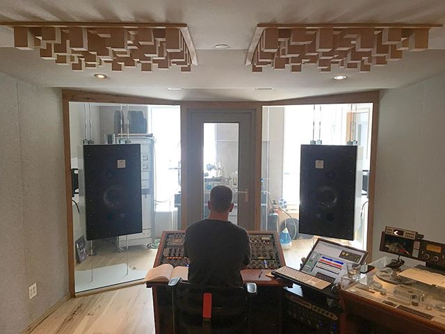 Mastering with @joshbonati in 2017. More news soon. #intallbuildings #mastering