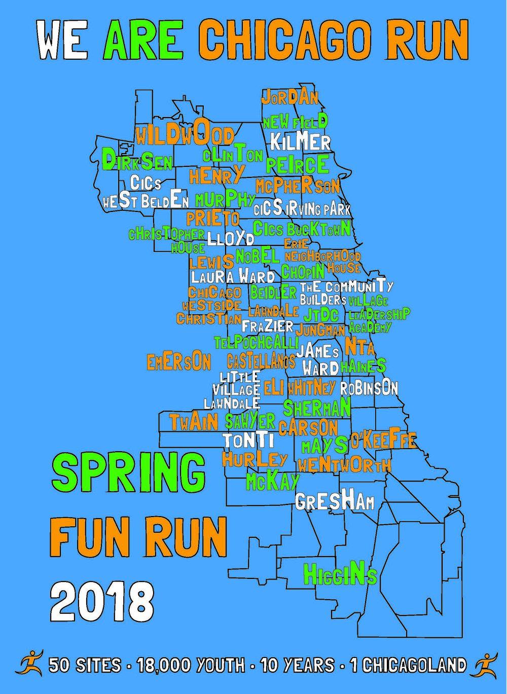 2018 Spring Fun Run T-Shirt