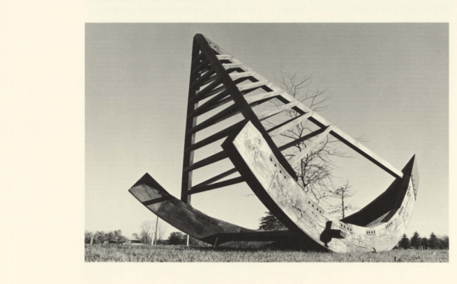 Art Arc - Art Arc (1981) was a gift of M.A. Lipschultz to Nathan Manilow Sculpture Park Governors State University (for a PDF, click here). Colored images of Art Arc below.
