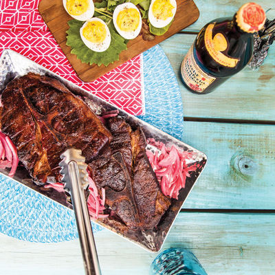 Get Fired Up: The Feast Cookout  Feast Magazine: May 2016  Feast Staff   CHECK OUT THE RECIPES HERE