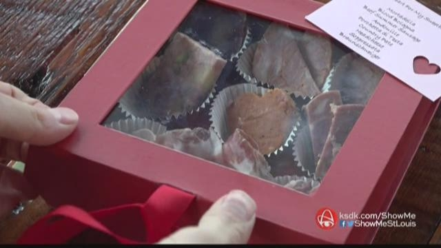 GIVE YOUR SEWEET HEART A MEAT HEART KSDK STL: Show Me St. Louis- Jan 2017 Watch It Here