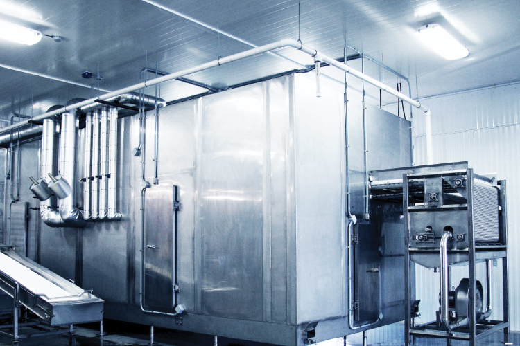 FPS IQF Tunnel Freezer