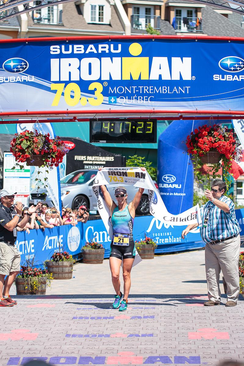 Meredith Kessler finish line