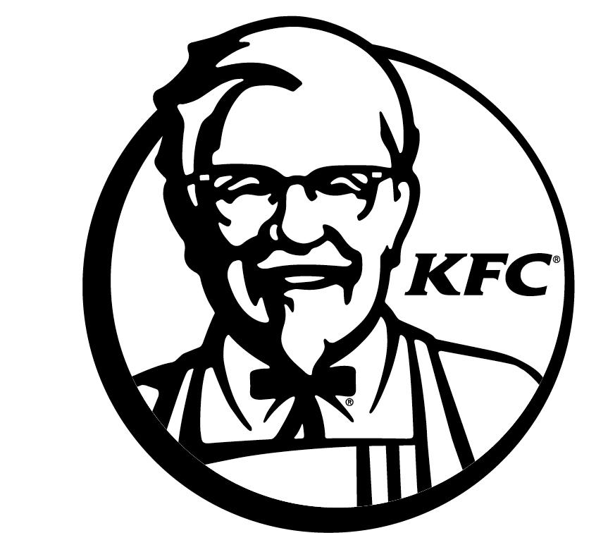 Kfc Logo Black And White