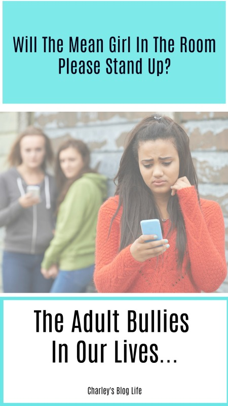 Will The Mean Girl In The Room Please Stand Up? The Adult Bullies In Our  Lives..-Food and Recipes - Charley's Blog Life