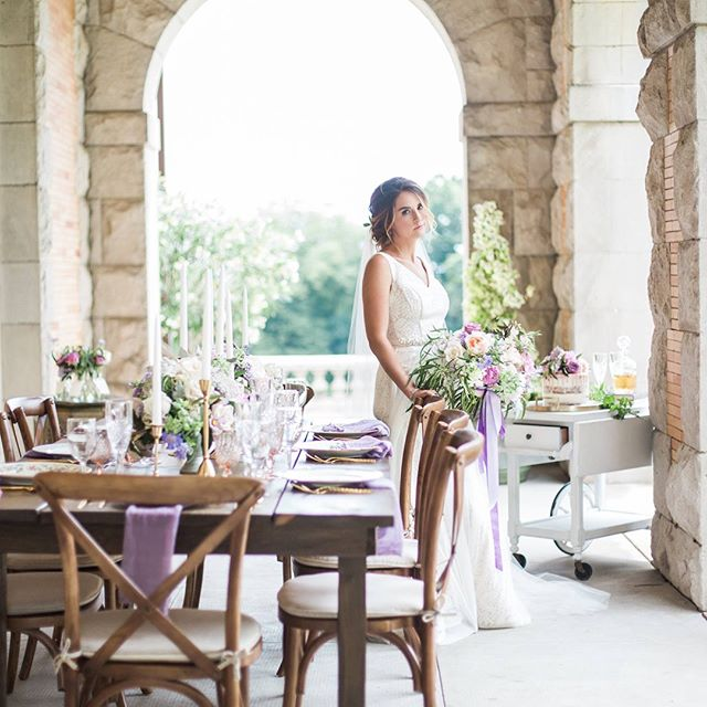 All the 😍 for this lilac and blush styled shoot at @cairnwood estate.Thank you to this incredible team of vendors below who made the vision come to life.  Venue: @cairnwood  Rentals: @rusticdrift  Wedding Planner: @eventsbymcr  Florals: @belovely_design  Bridal Gown: @ashe_b_co  Custom flower girl dress: @priscillacostabridal  Cake: @qbeepastry  Hair: @arielkatrinahair  Makeup: @makeupbyemilydimant  Jewelry: @harrymerrill  Stationery: @artpaperscissor