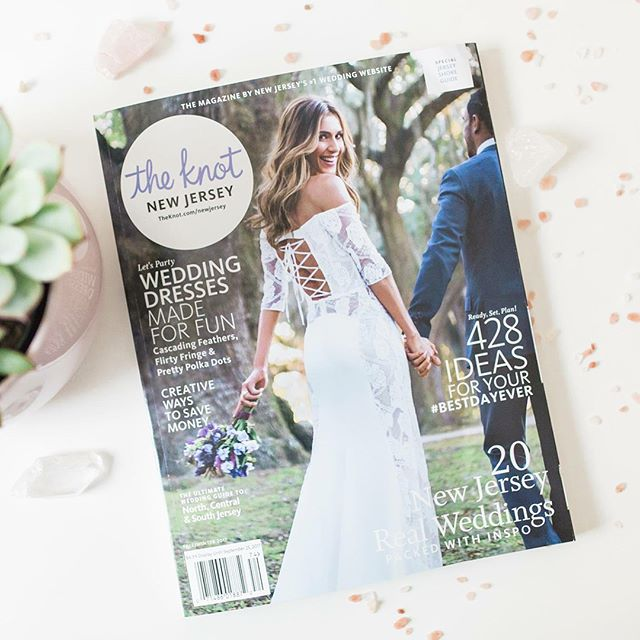 So proud to see Lindsey & Keith's wedding featured in the Fall 2017 issue of @theknot magazine. Lindsey put so much of her heart into her wedding day, and she deserves this so much! She has become a friend though this whole process as we got to know each other through many styled shoots before her wedding day, and I credit her for my styling skills :) She is also owner of @pippaandfig so go show her some love!  Vendors Team: Planner: @kylemichellewed  Flowers: @vaultandvine.co  Gown: @sweetcarolinestyles  Shoes: @badgleymischka  Wedding Rings: @harrymerrill  Engagement Rings: @desummawexler  Hair&Makeup: @jol_stylist  Stationery: @pippaandfig  Cakes &Pies: @qbeepastry  Favors: @everlaser