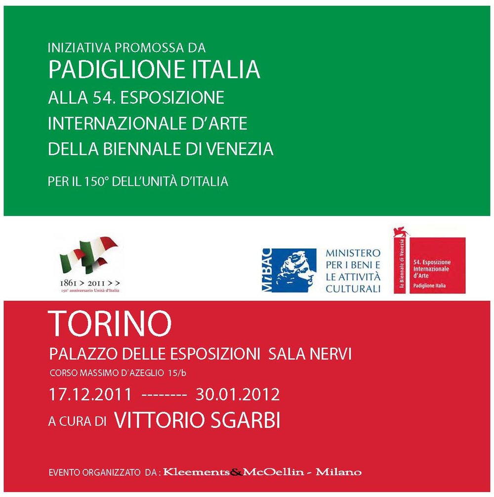 Venice Biennal, Padiglione Italia 2011